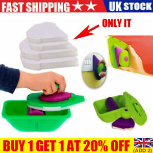 4Pcs Paint Point Sponge Pad For Painting Roller Tray Brush Home Wall Decor UK