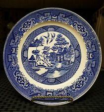 Vintage Homer Laughlin Blue Willow 9 inch Dinner Plate