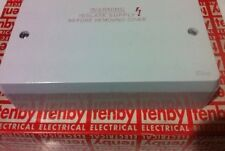 Tenby 10 Way Central Heating Wiring Centre Box 15A  25mm Deep 10W  Box
