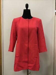 Zara Basic Collection Polyester Blend Suit Jacket Size L