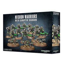 Necron Warriors With Canoptek Scarabs Games Workshop Warhammer 40 000