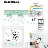 Touchscreen Digital WiFi Air Conditioning 4-Pipe Programmable Room Thermostat