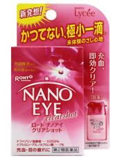 Rohto Lycee Nano Eye clearshot Eye Drops 6ml Vitamin To exhaustion of tired eyes