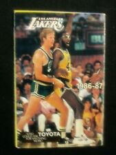 Los Angeles Lakers NBA 1986 / 1987 Season Schedule