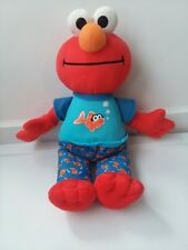 "Hasbro Sesame Street Elmo Plush Talks Music 12"" 2010 Bedtime J27"