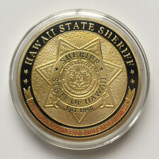 Hawaii state Sheriff Challenge Coin