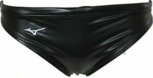 MIZUNO Water Polo Swim suit Swimwear Mens Brief Rubber Leather wet look 32 34 XL