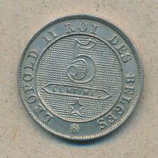 België/Belgique 5 ct. Leopold II 1894 Fr Morin 244 (134780)