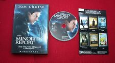 Minority Report pre-owned Dvd, Tom Cruise, 2003 Steven Spielberg, Tom Cruise Vg+