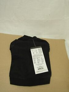 """Zack & Zoey Basic Tee Shirt for Dogs, 10"""" X-Small, Black"""