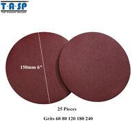 419 200mm 8 Sanding Discs Quality MIRKA Pads Hook /& Loop Grit P400 Pack of 10