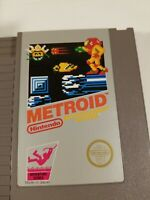Lot of two Nintendo Entertainment System NES games, Metroid plus Trog Authentic
