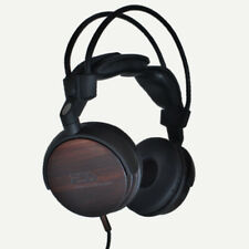 ESS Speaker Labs ESS-RLM-713 Real Ebony Wood Premium High End Headphones