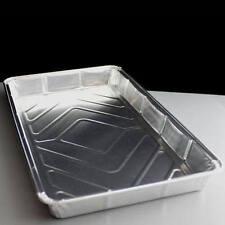 """250 x Rectangular Foil Traybake Dish 12"""" x 8"""" Baking Pie Tart Tray"""