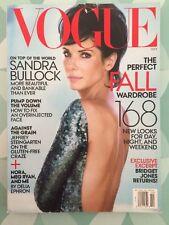 VOGUE US October 2013 Sandra Bullock Mode Fashion Look
