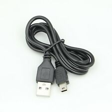 USB Male A to B USB Mini 5 Pin Cable Lead for PS3 Controller Charging Charger EU