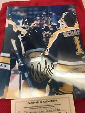 RAY BOURQUE SIGNED 11X14 BOSTON BRUINS PHOTO,Hockey Hall Of Fame GREAT, W/COA