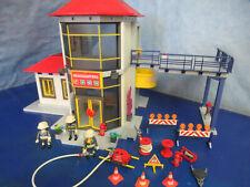 3175 Feuerwache Hubschrauber Landeplatz Figuren Feuerwehr Station Playmobil 5364