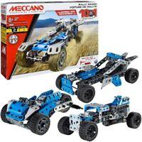 Meccano 10 In 1 Rally Racer Model Construction Building Set BNIB 8 Yrs+ Level 2