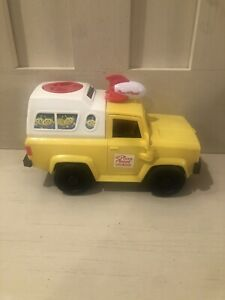 Imaginext Toy Story Planet Pizza Delivery Truck Shuttle