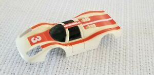 Vintage TYCO SLOT CAR #3 FERRARI body only - Nice!