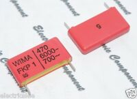5pcs - WIMA FKP1 470P (470PF 0.47nF) 6000V 5% pich:22.5mm Capacitor