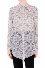 "Brand New SASS & BIDE   ""Neon Atomic""   Silk Shirt Blouse  -  Size 10  -  $490"