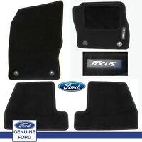 Genuine Ford Focus 2015 on 1913997 Black Floor Mat / Carpet Set of 4
