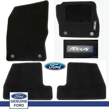 Genuine Ford Focus 2015 on 1913997 Black Floor Mat / Carpet Set of 4