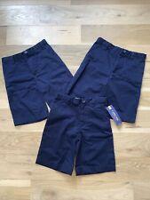 Cherokee School Uniform Navy Shorts Size 7. Lot Of 3. Nwt (1)