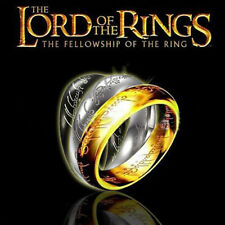 Mens' Womens UNISEX Lord Of The Rings – 'The One Ring' 6mm /Fantasy/Aztec