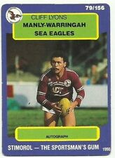 Cliff Lyons NRL & Rugby League Trading Cards