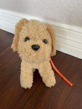 Global Ship! American Girl Doll McKenna's DOG Cooper + Leash  goldendoodle