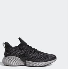 Adidas alphabounce Instinc Correr Estilo De Vida Zapatos Negro Blanco BC0626 Talla 4-12