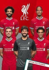 The Official Liverpool FC A3 Calendar 2022 2022 9781801220200 | Pre Order