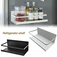 Refrigerator Rack Storage Kitchen Organizer Magnetic Holder Home Side Hanger