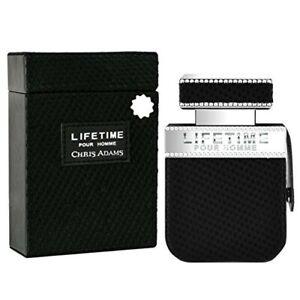 LIFE TIME Pour Homme Mens Perfume Chris Adams 80ml Eau De Parfum Fragrance