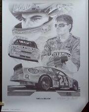 NASCAR #24 DUPONT NASCAR JEFF GORDON LIMITED EDITION PRINT WINSTON MILLIONS WIN