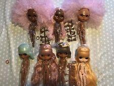 Factory Blythe Dolls 30cm BJD dark Mid Fair Curly Long Short Hair