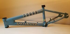 "light Blue 2001 Specialized Fatboy Vegas mid school 20"" BMX frame nice looking"