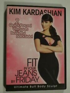 Kim Kardashian Ultimate Butt Body Sculpt DVD Fit In Your Jeans By Friday GOOD
