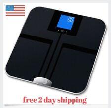 EatSmart Precision Getfit Digital Body Fat Scale Auto Recognition Technology