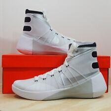 Nike Hyperdunk 2015 TB Men's Size 12 White Metallic Silver Basketball Shoes