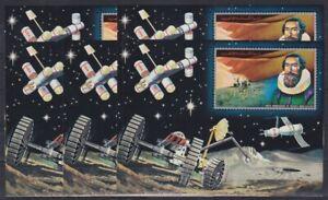 B839. 5x Ajman - MNH - Space - 400th Anniversary - Imperf