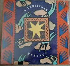 A CHRISTMAS MESSAGE VINYL LP - NEW SEALED - VANESSA WILLIAMS, SAFIRE, LEXI