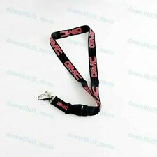 For New GMC Racing NYLON DOUBLE SIDE Lanyard Neck Strap KeyChain Quick Release