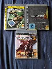 Uncharted 1-3 - Playstation 3 - PS3