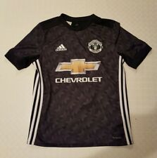 Manchester United Black Away Shirt 2017/2018 - Alexis 7 -  Age 13/14 - Man Utd