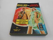 OSS.117 RECUEIL N° 3229 BIMESTRIEL 46 & 47 EDIT ARTIMA 1976