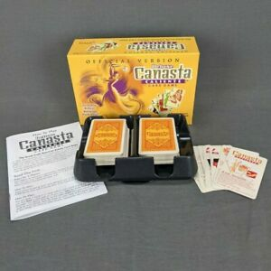 Deluxe Canasta Caliente Card Game with Rotating Tray Official Complete